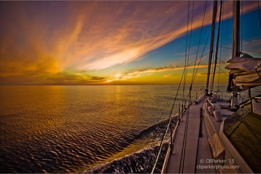 Sail Into Sunset - Sea of Cortez near Cabo San Lucas, Baja California, Mexico 2008