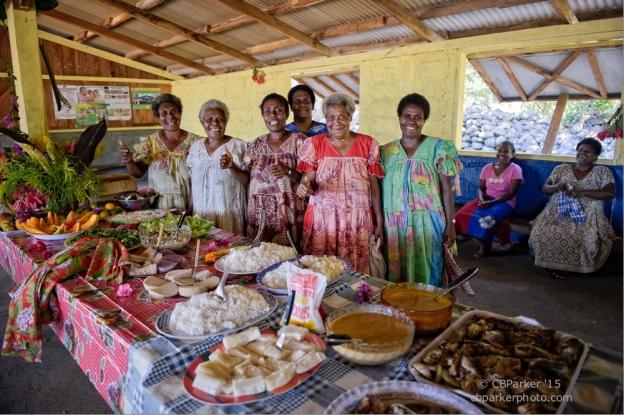 Feast at Dillon's Bay - Erromango Island, Vanuatu 2010