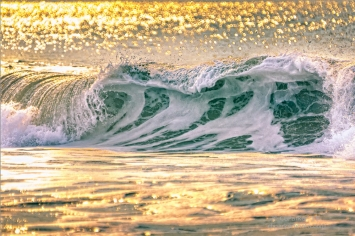 Breakers At Sunrise #3 - Ixtapa, Mexico 2014
